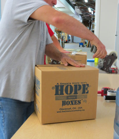 hope boxes rice