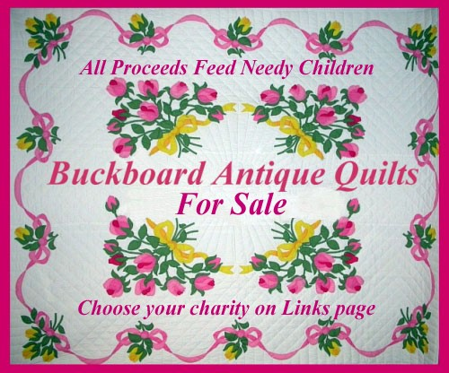 buckboard antique quilts